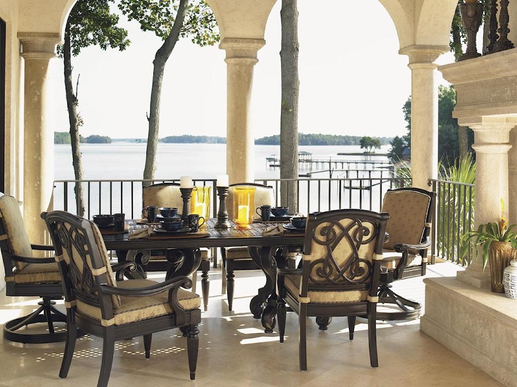 Tommy Bahama Outdoor Living Kingstown SedonaDining Arm Chair