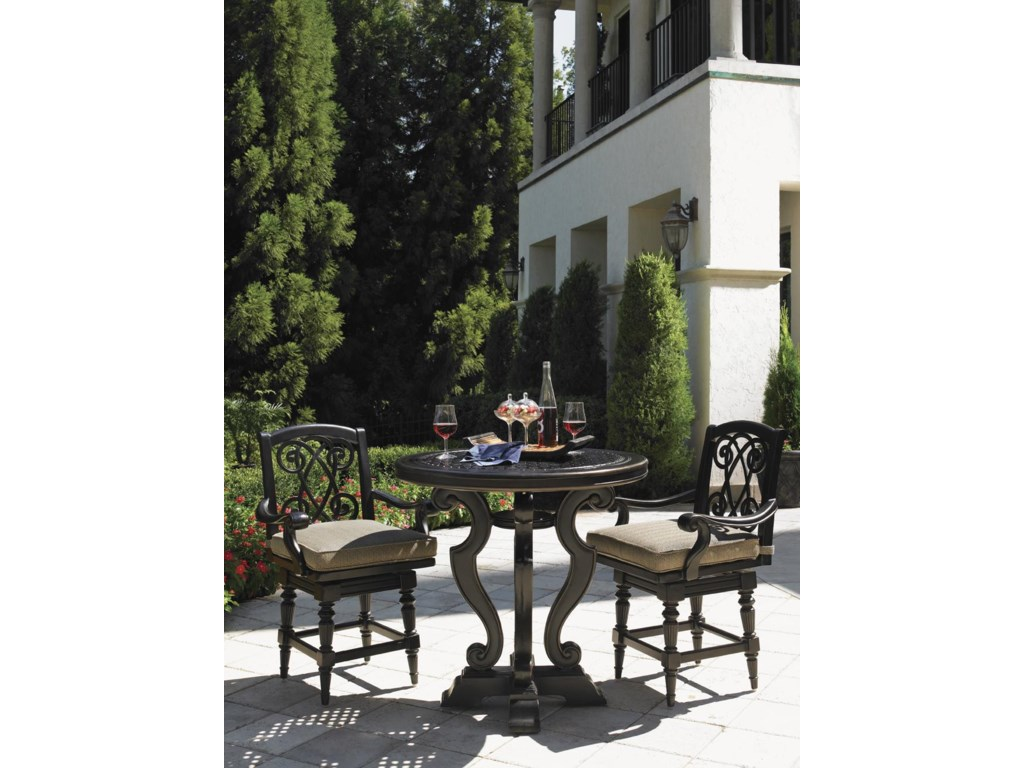Tommy Bahama Outdoor Living Kingstown SedonaHigh/Low Bistro Table