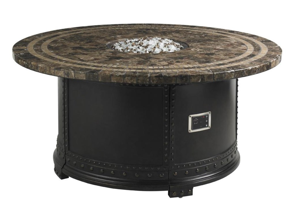 Tommy Bahama Outdoor Living Kingstown Sedona3 Piece Fire Pit Set