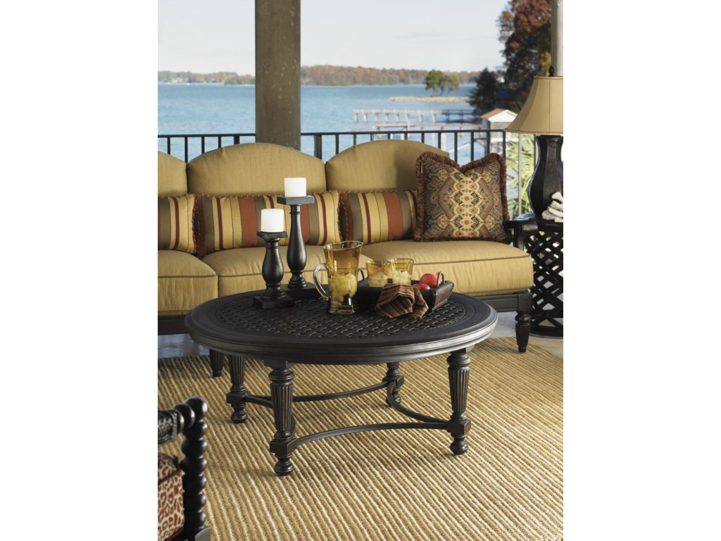 Tommy Bahama Outdoor Living Kingstown SedonaCocktail Table