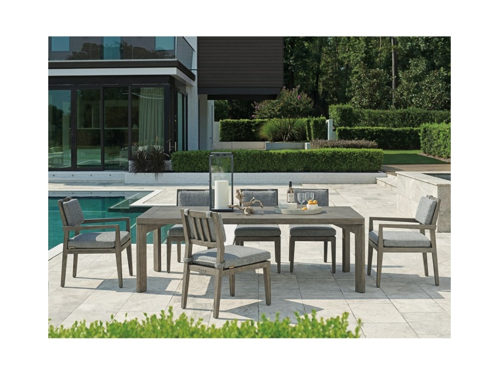 Tommy Bahama Outdoor Living La Jolla7-Piece Outdoor Dining Set