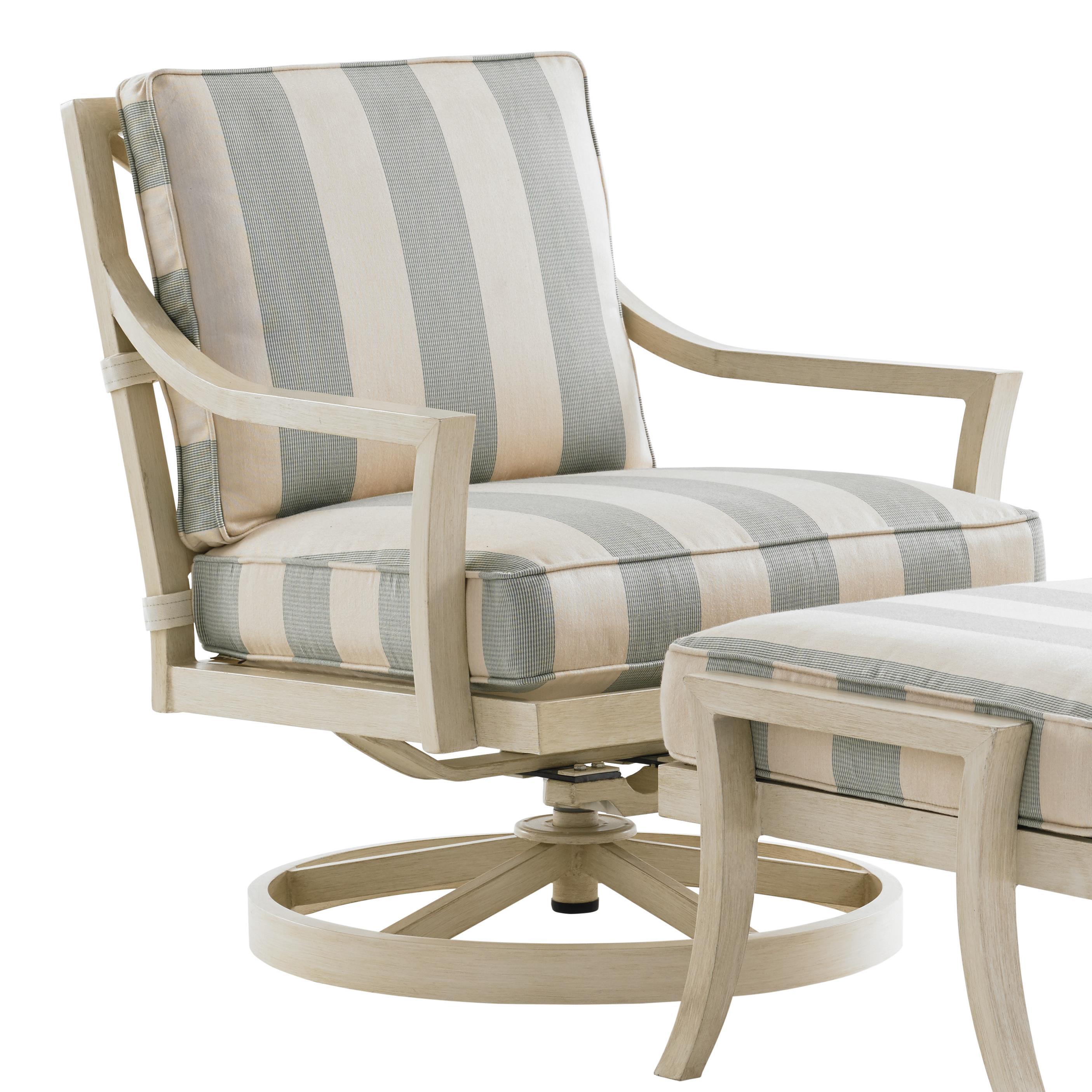Tommy Bahama Outdoor Living Misty GardenSwivel Rocker Lounge Chair ...