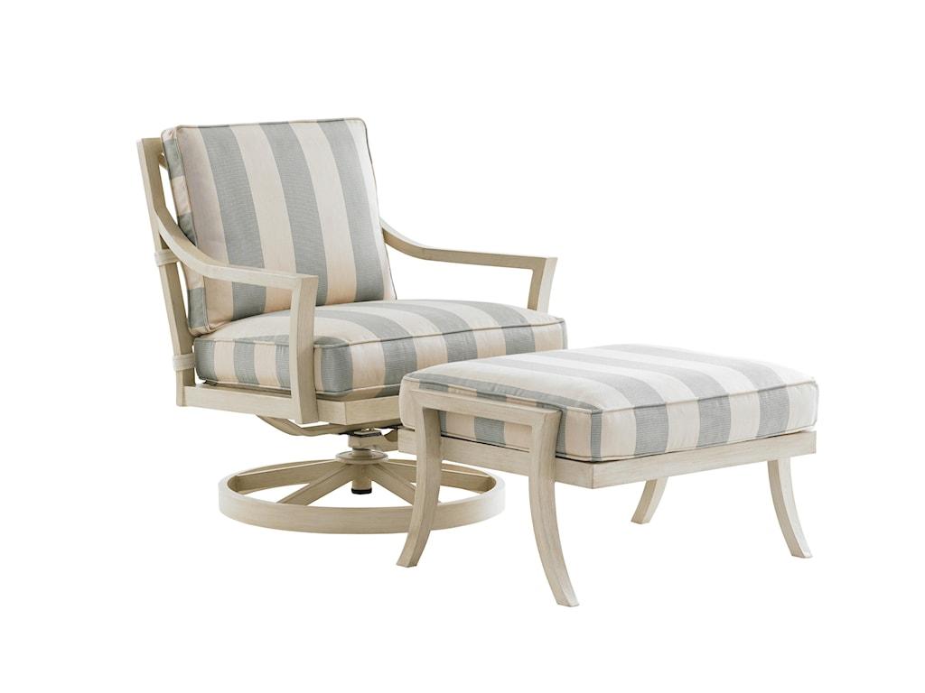 Tommy Bahama Outdoor Living Misty GardenSwivel Rocker Lounge Chair