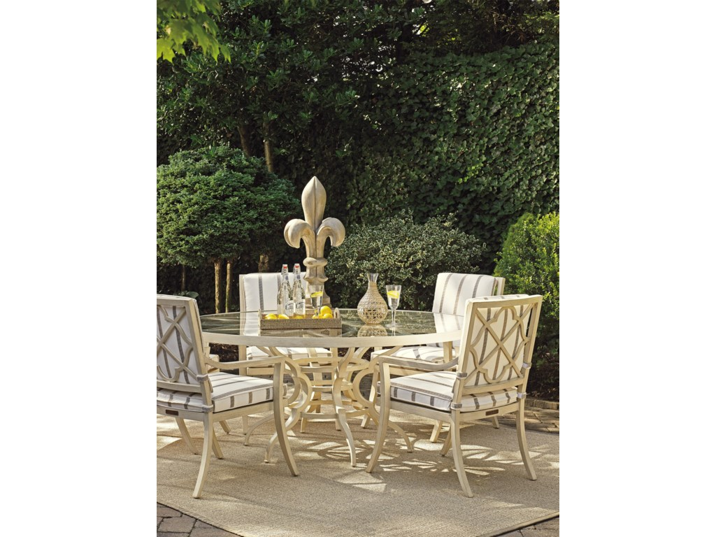 Tommy Bahama Outdoor Living Misty GardenDining Arm Chair