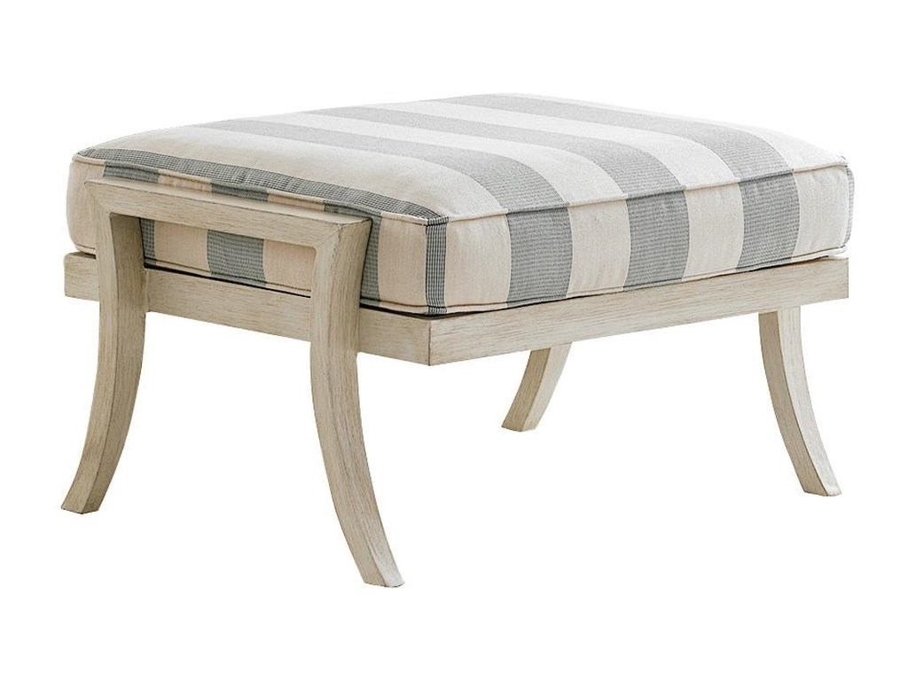 Tommy Bahama Outdoor Living Misty GardenOttoman