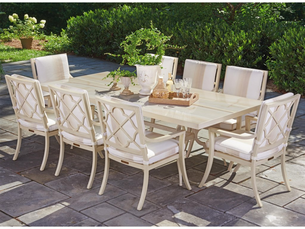Tommy Bahama Outdoor Living Misty Garden9 Pc Dining Set
