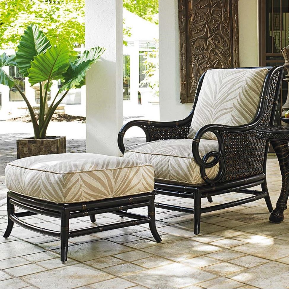 Tommy Bahama Outdoor Living MarimbaOutdoor Lounge Chair And Ottoman Set ...