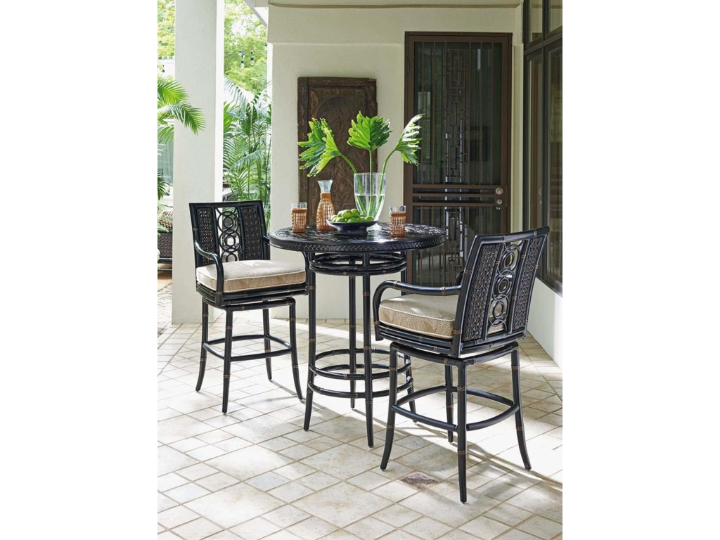 Tommy Bahama Outdoor Living MarimbaSwivel Bar Stool