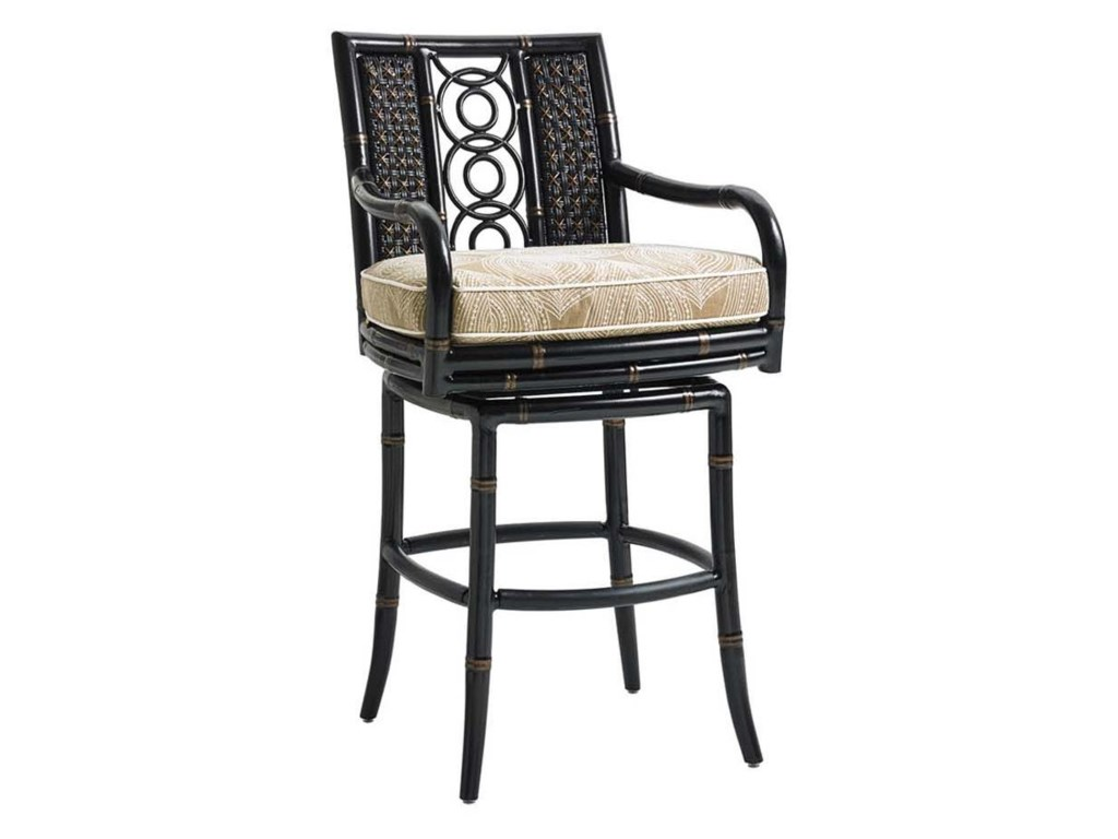 Tommy Bahama Outdoor Living MarimbaHigh/Low Bistro Table w/ Bar Stools