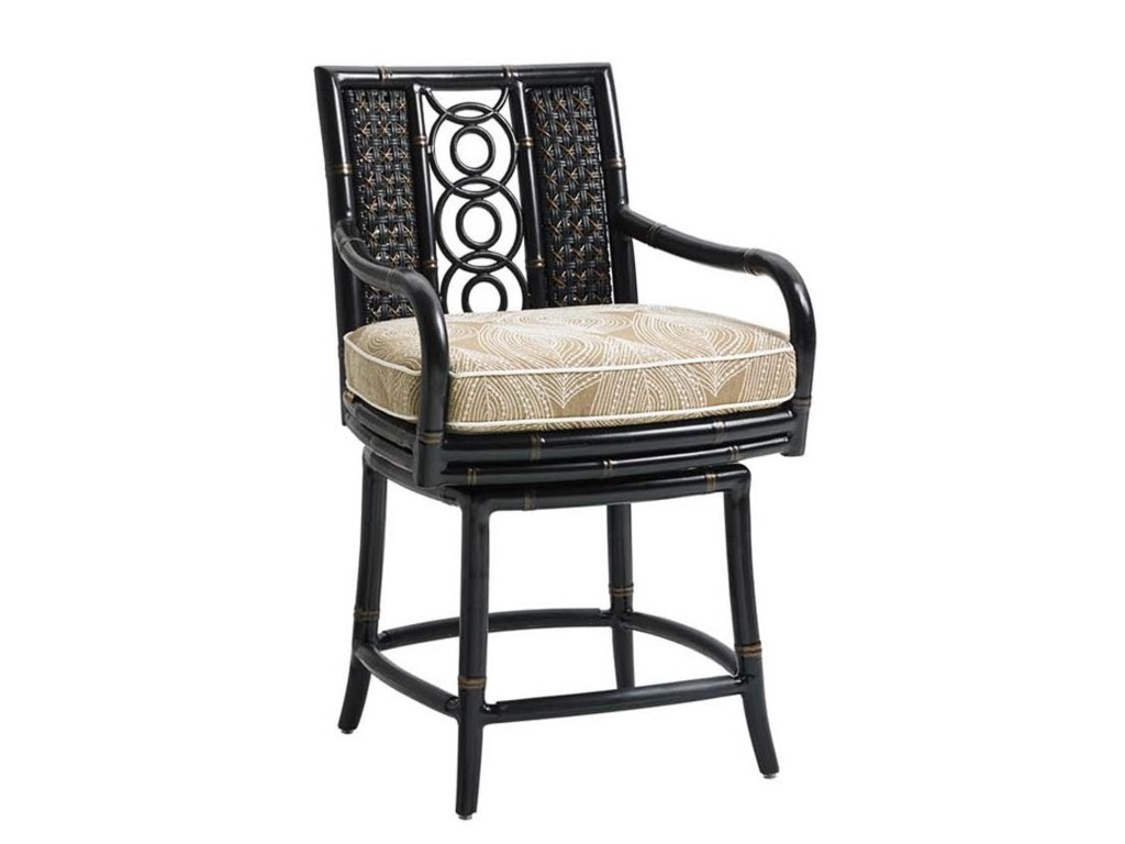 Tommy Bahama Outdoor Living MarimbaHigh/Low Bistro Table w/ Counter Stools