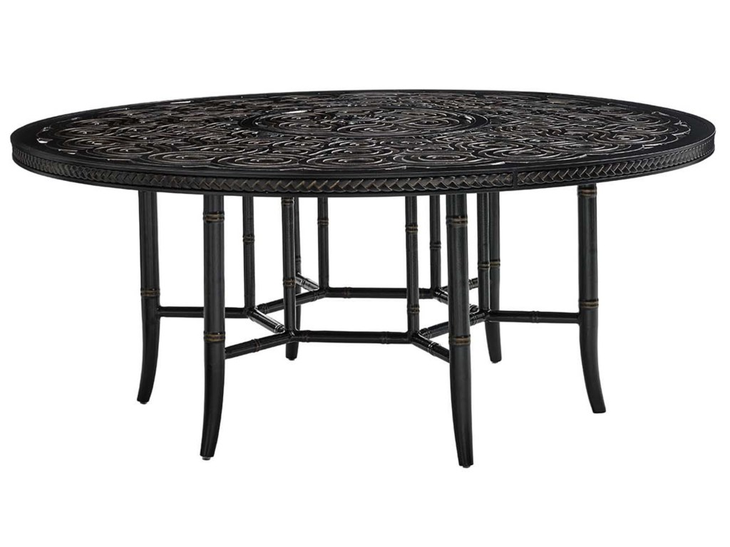 Tommy Bahama Outdoor Living MarimbaRound Dining Table