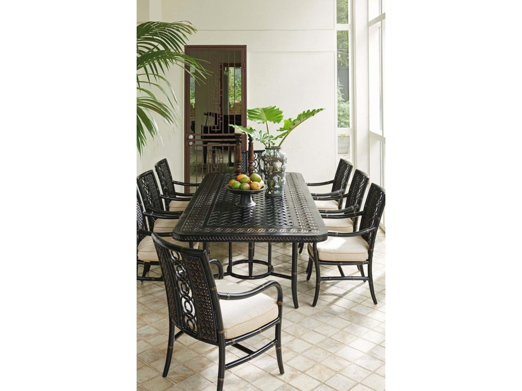 Tommy Bahama Outdoor Living Marimba9 Pc Outdoor Dining Set
