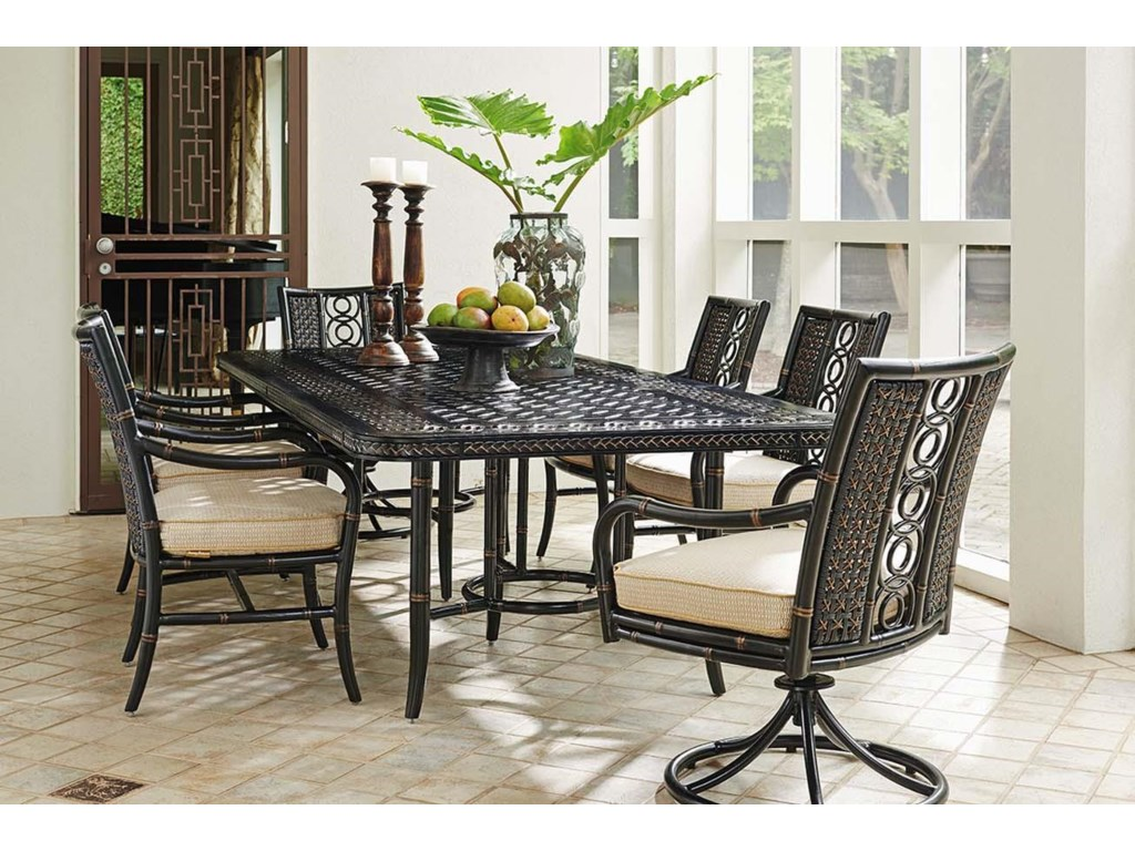 Tommy Bahama Outdoor Living MarimbaRectangular Dining Table