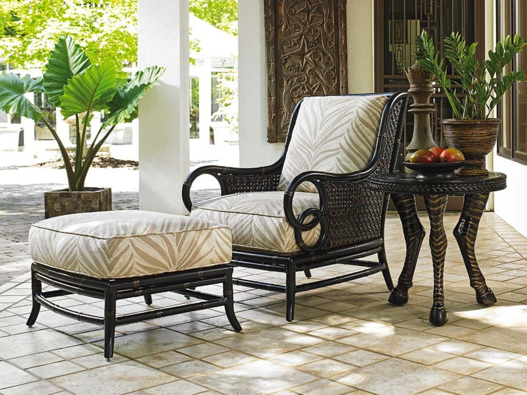 Tommy Bahama Outdoor Living MarimbaRound Accent Table