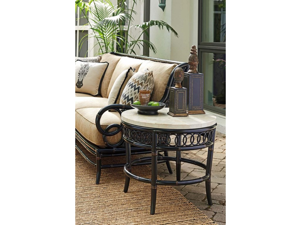 Tommy Bahama Outdoor Living MarimbaRound End Table