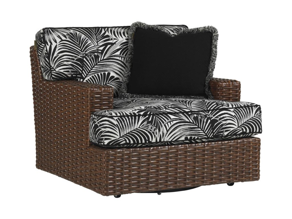 Tommy Bahama Outdoor Living Ocean Club PacificaSwivel Lounge Chair