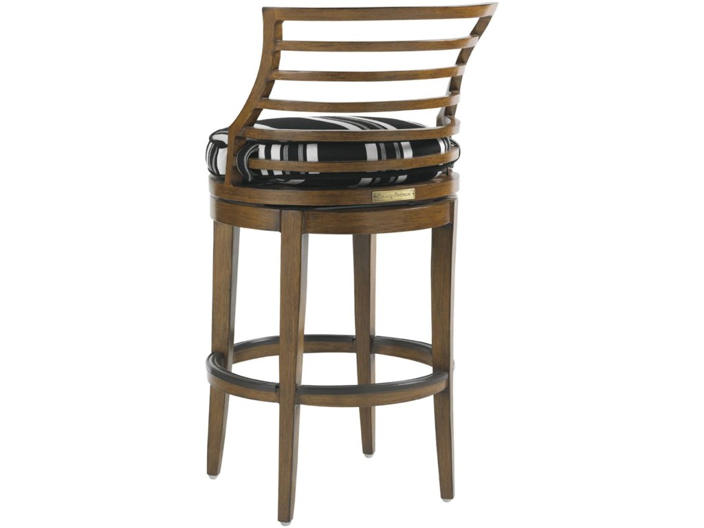 Tommy Bahama Outdoor Living Ocean Club PacificaOutdoor Swivel Bar Stool