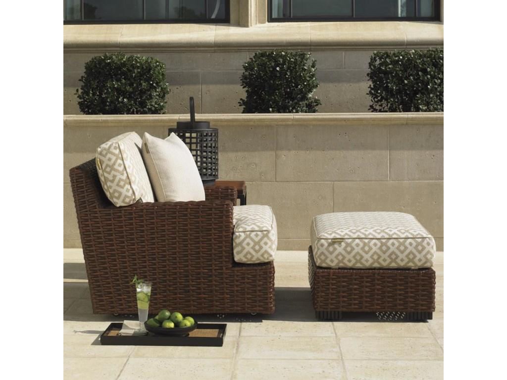 Shown with Swivel Lounge Chair