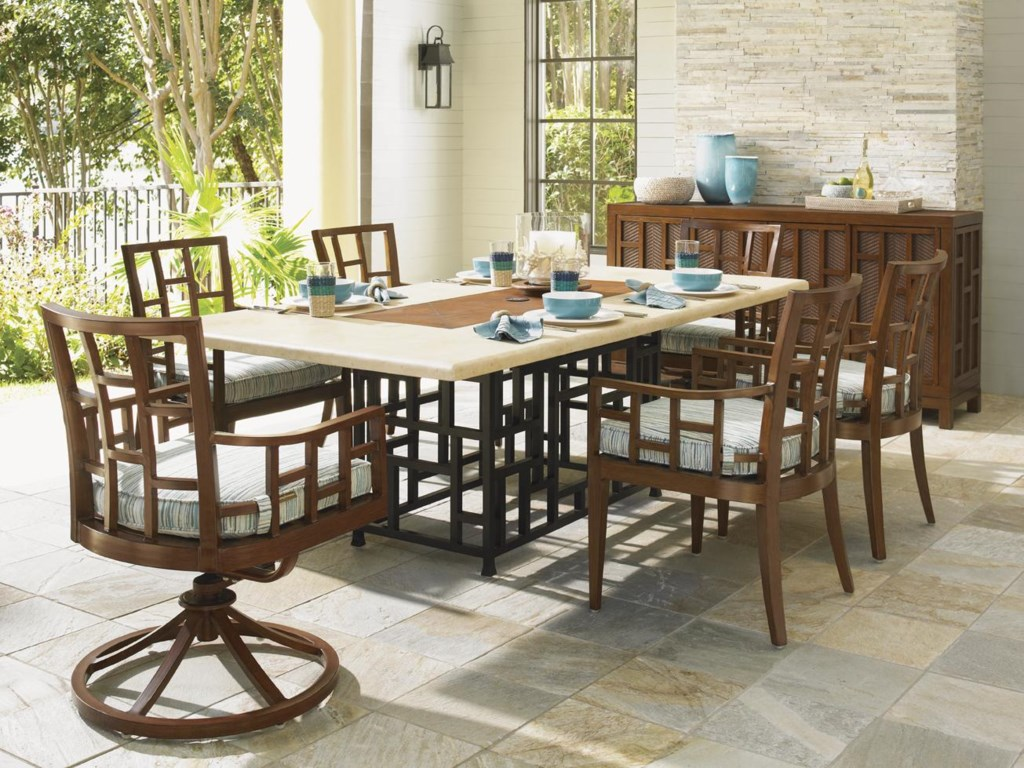 Shown with 54-Inch Round Dining Table, Buffet and Dining Chair
