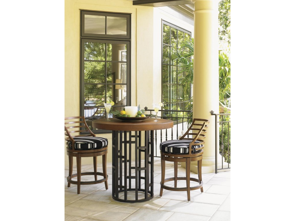 Shown with Swivel Counter Stool