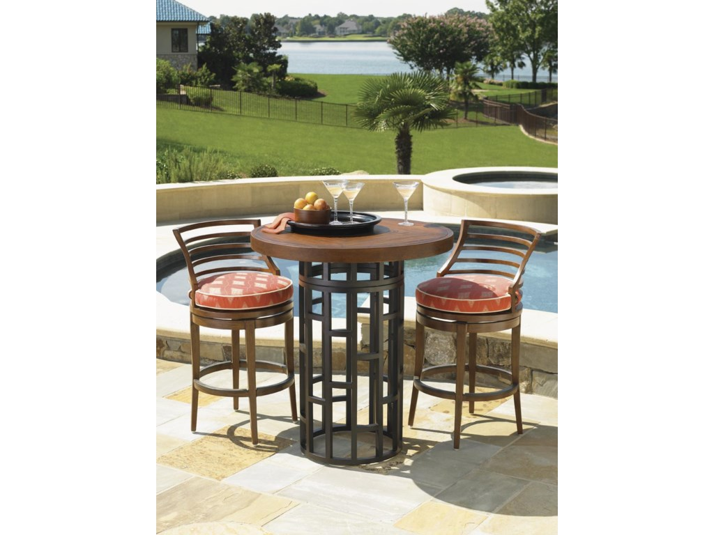 Shown with Swivel Bar Stool