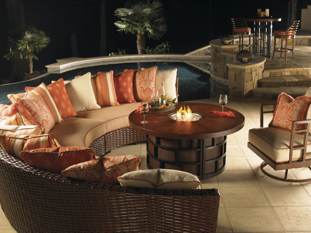 Shown with Swivel Lounge Chair and Sectional (From a Separate Collection)