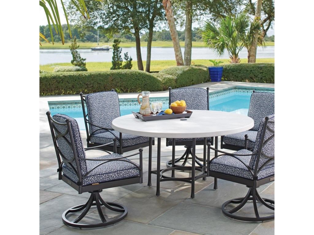 Tommy Bahama Outdoor Living PavlovaOutdoor Round Dining Table