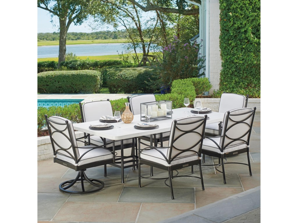 Tommy Bahama Outdoor Living Pavlova7 Piece Outdoor Dining Set