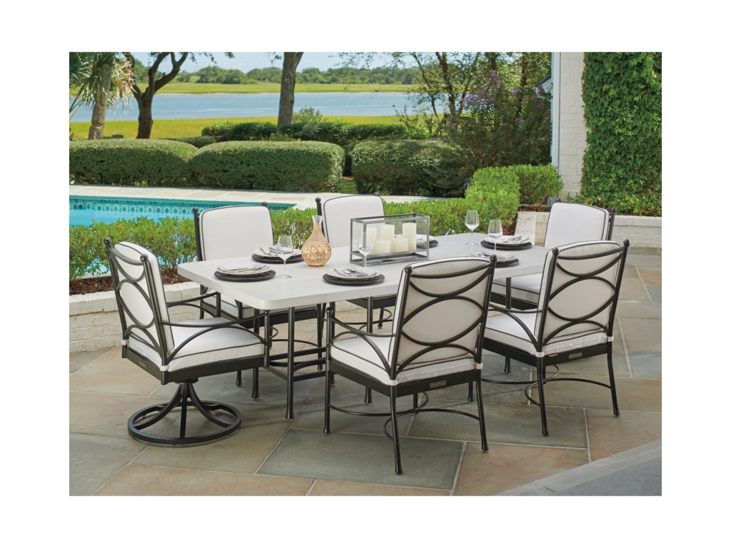 Tommy Bahama Outdoor Living PavlovaOutdoor Rectangular Dining Table