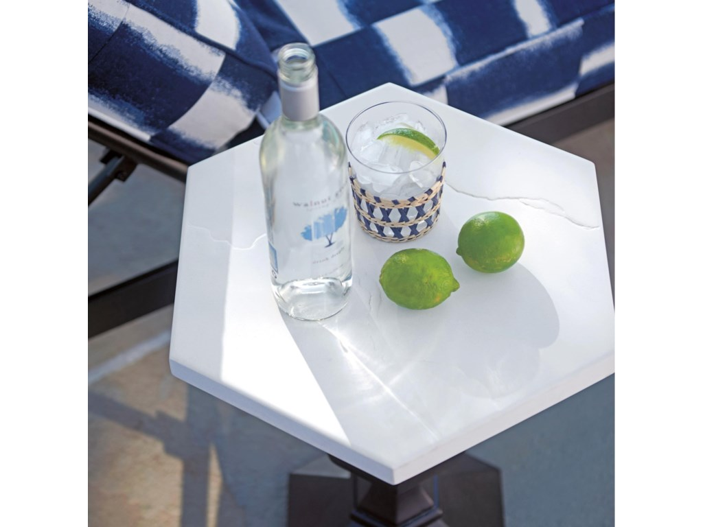 Tommy Bahama Outdoor Living PavlovaOutdoor Hexagonal Accent Table
