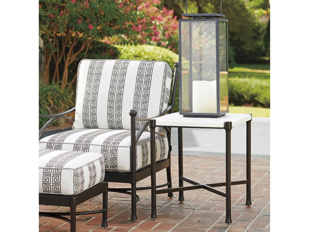 Tommy Bahama Outdoor Living PavlovaOutdoor Rectangular End Table