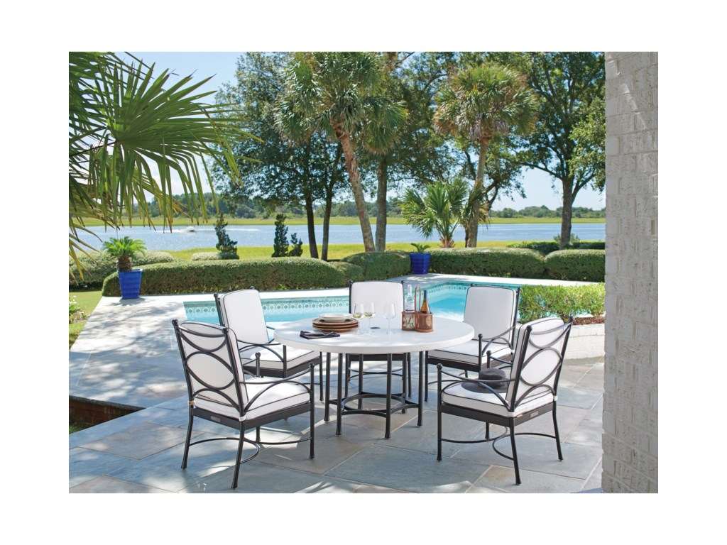 Tommy Bahama Outdoor Living PavlovaOutdoor Dining Chair