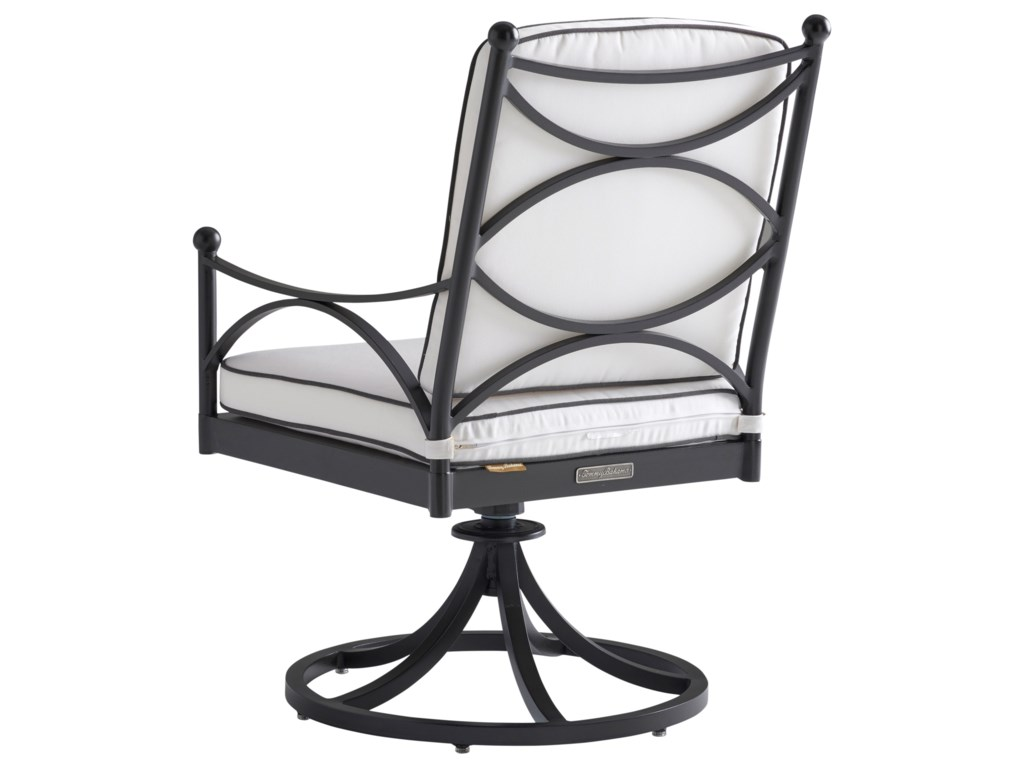 Tommy Bahama Outdoor Living PavlovaOutdoor Swivel Rocker Dining Chair
