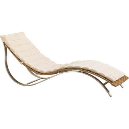 Chaise Lounge w/ Cushion