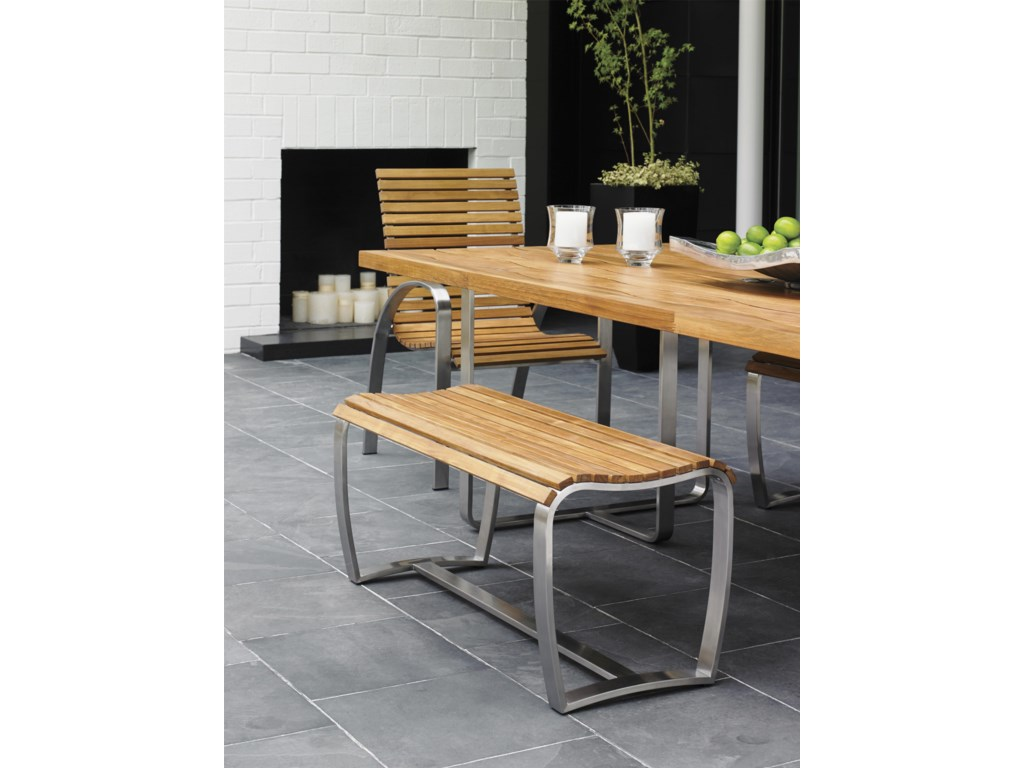 Tommy Bahama Outdoor Living Tres ChicDining Bench