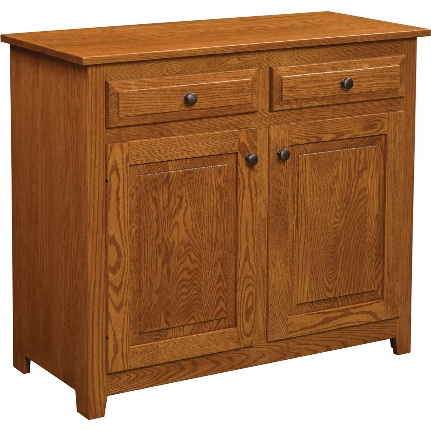 Easton Pike EP6030B 2 Door Buffet By Trailway Wood