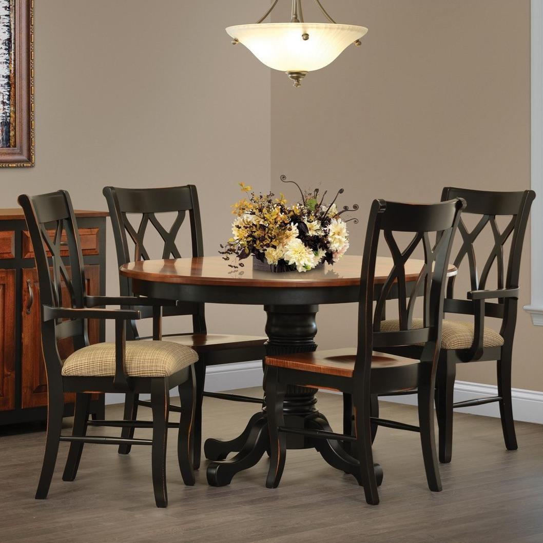 Rotmans Amish Ellis Cove DiningTable And Chair Set ...
