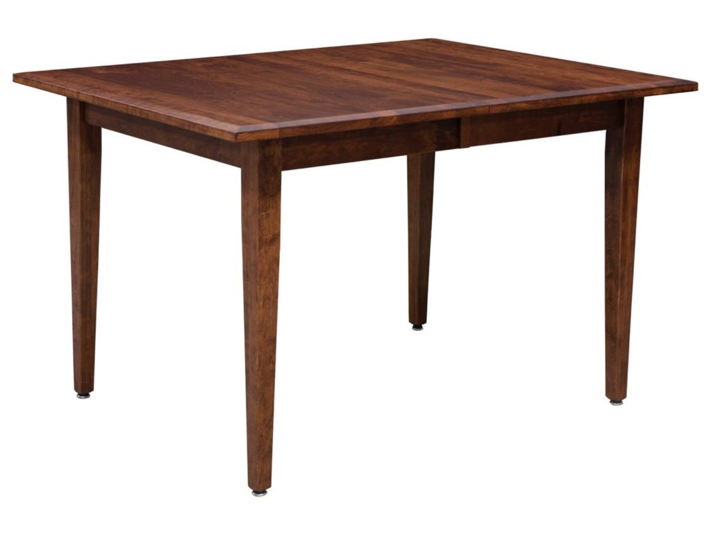 Trailway wood freeportcustomizable dining table w 2