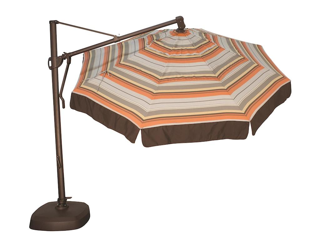 Treasure Garden Cantilever Umbrellas11' Cantilever Octagonal Umbrella