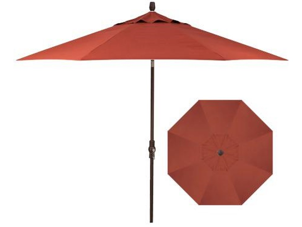 Treasure Garden Market Umbrellas11' Market Collar Umbrella