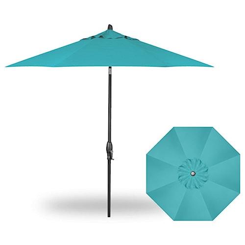Treasure Garden Market Umbrellas 9' Auto Tilt Umbrella