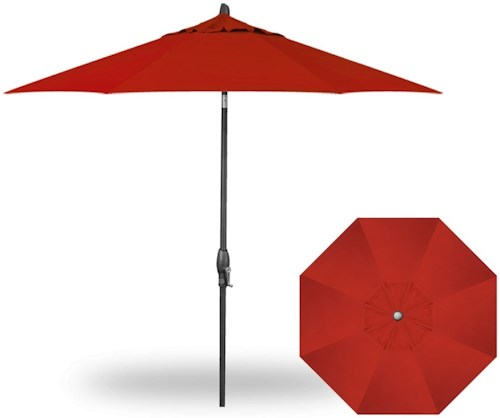 Treasure Garden Market Umbrellas 9' Auto Tilt Umbrella