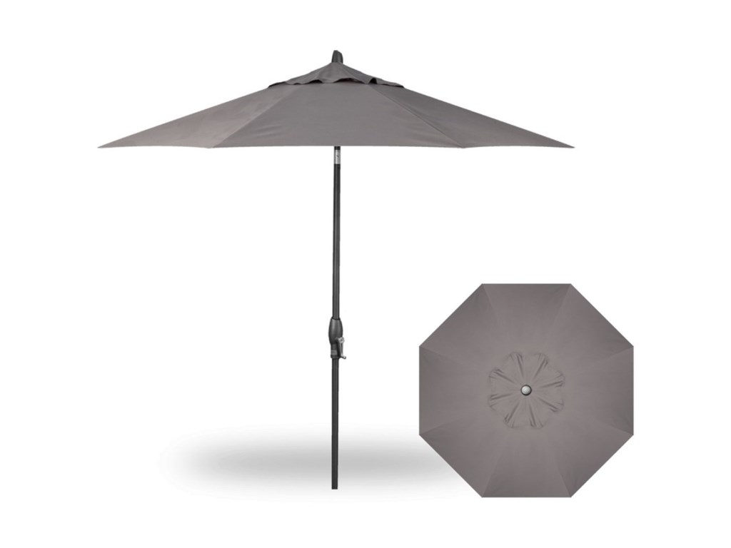 Treasure Garden Market Umbrellas9' Auto Tilt Umbrella