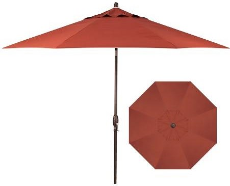 Treasure Garden Market Umbrellas 11' Auto Tilt Market Umbrella