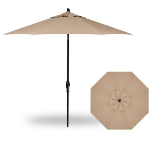 Treasure Garden Market Umbrellas11' Auto Tilt Market Umbrella