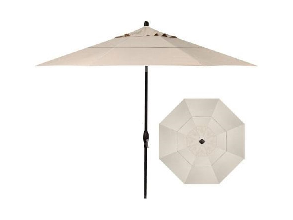 Treasure Garden Market Umbrellas11' Auto Tilt Market Umbrella