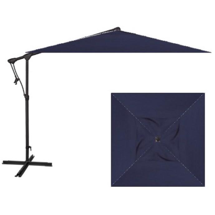 Cantilever Umbrellas 8.5u0027 Swuare Cantilever Umbrella By Treasure Garden