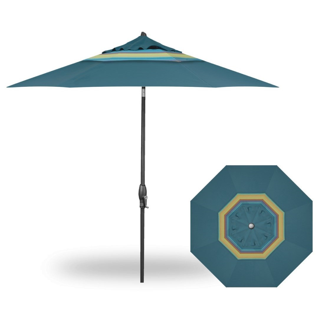 Treasure Garden Market Umbrellas 9u0027 Auto Tilt Market Umbrella   Becker  Furniture World   Umbrellas