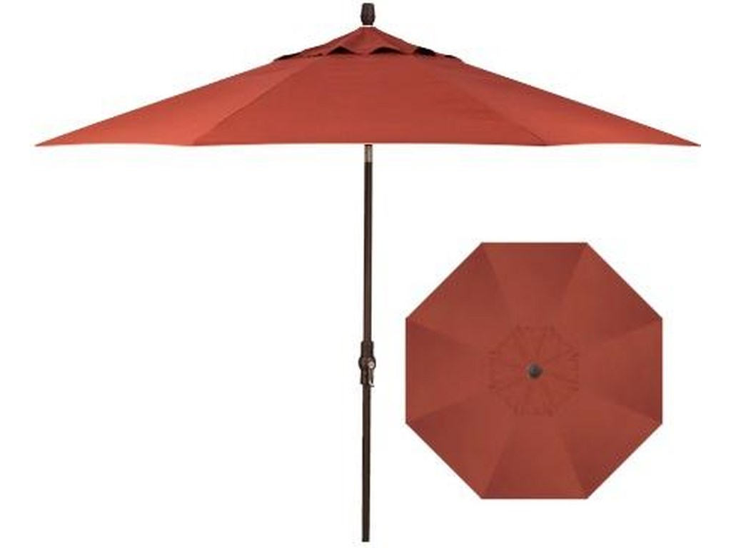 Treasure Garden Market Umbrellas9' Collar Tilt Umbrella