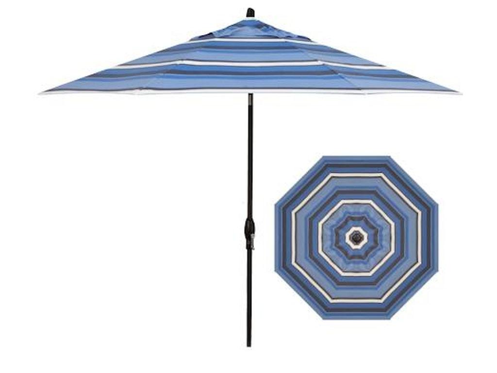 Treasure Garden Market Umbrellas9' Auto Market Tilt Umbrella